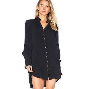 Free People Lieutenant Shirt Dress NWT $128